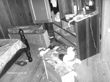 The disarranged room (Zoisa Fraser photo)