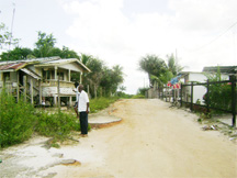 Orogon Avenue. Alfred Bhanwari was given a lease for the area on the left in this picture.