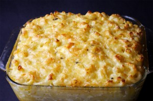 Macaroni Pie (Photo by Cynthia Nelson)