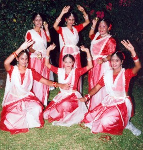 A dance troupe from the Indian Cultural Centre