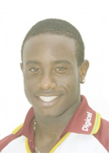 LAST CHANCE! Today's match is possibly the last chance for Sewnarine Chattergoon, left and Xavier Marshall to cement their places in the West Indies side.