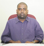 Finance Controller of IPED,  Ramesh Persaud