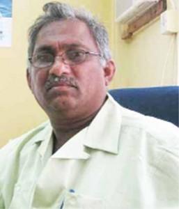 Chairman of the National Events Committee, Karran Persaud Deokarran