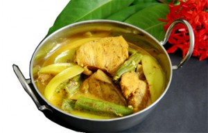 Cheated upon - Fish Curry (Photo by Cynthia Nelson)