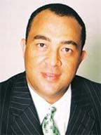 Minister of Agriculture  Dr Christopher Tufton