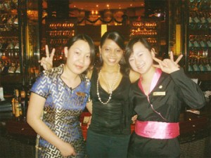 Nicole Osborne in China