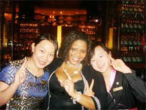 Nancy Osborne in China
