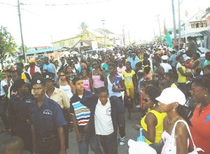 Berbicians turned out in large numbers