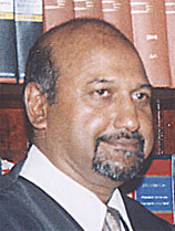 Chancellor of the Judiciary Carl Singh