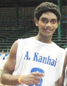 Akeem Kanhai was dominant once again as he led  MHS to the finals, scoring 30 points.