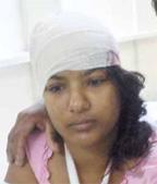 Injured: Kalwantie Kumar