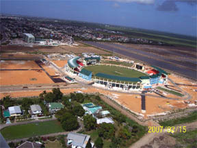 Guyana National Stadium, Providence East Bank Demerara