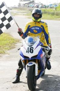 King of the local Super Bikes – Steven `Valentino Rossi' Vieira