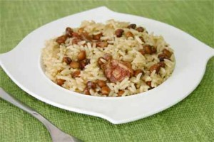 Bajan Rice & Peas (Photo by Cynthia Nelson)