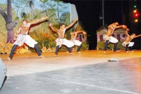 The Classique Dance Company performs at the National Cultural Centre during Carifesta X (Stabroek News file photo)
