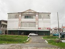Astor, December 2008. The last cinema in Guyana showing movies