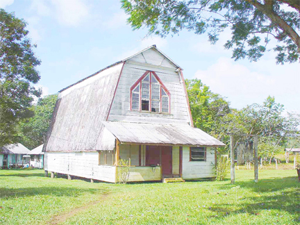 St Francis De Sales Anglican Church at Kamarang