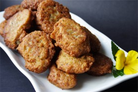 Haitian Accra (Tannia Fritters) (Photo by Cynthia Nelson)