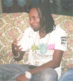 Mavado engaging the media