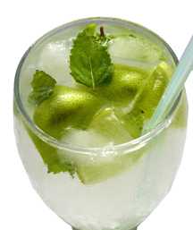 Mint Lemonade (Photo by Cynthia Nelson)