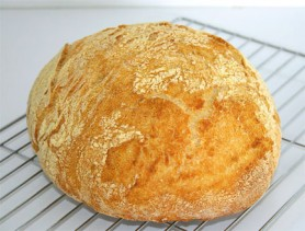 No-Knead Bread (Photo by Cynthia Nelson)
