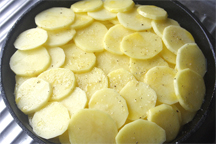 Assembled Potatoes Anna (Photo by Cynthia Nelson)