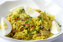 Kedgeree (Photo by Cynthia Nelson)