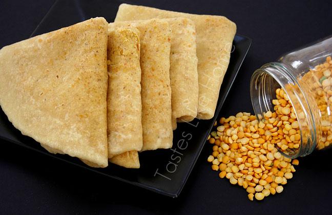 tastes like home: A Roti called DHAL PURI   Trinidad Dhal Puri
