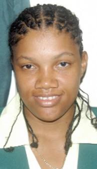 June Ogle captain of the Guyana Women's team.
