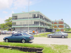 A section of the UG campus. (SN file photo)