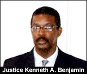 Justice Kenneth Benjamin