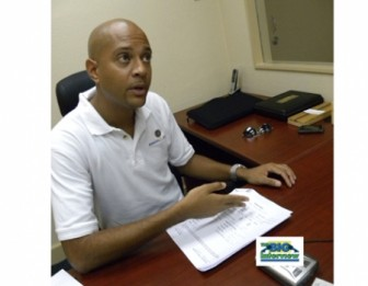 Scott Goodman (Barbados Nation photo)