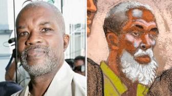 Abdul Kadir (left) and an artist's rendering of Russell Defreitas