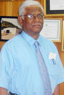 Executive Chairman Sattaur Gafoor