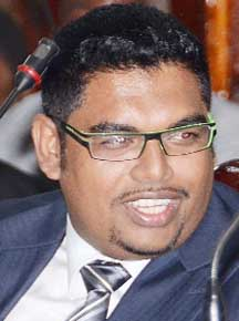 Housing and Water Minister Irfaan Ali