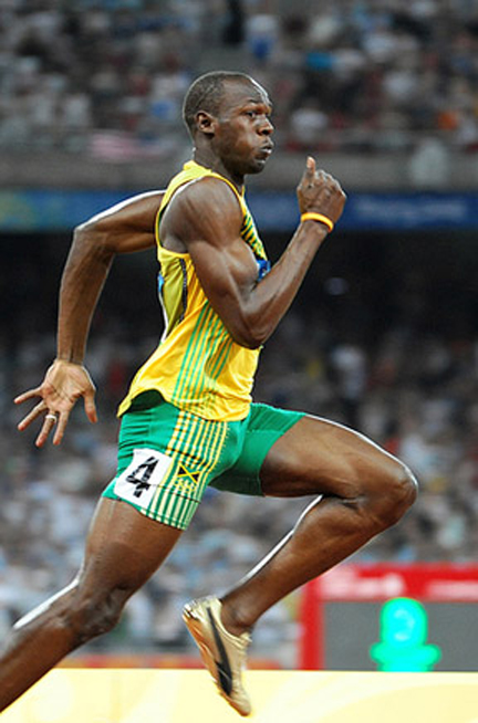 Maths and Olympics: How fast could Usain Bolt run ...