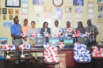 Guyana Football Federation/Food for  the Poor (Guyana) join forces