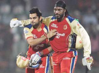 Chris Gayle and Virat Kohli's 204-run partnership was the second-best effort in all Twenty20.