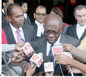 Works Minister Jack Warner