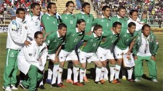 The Bolivia national team.
