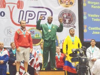 Randolph Morgan on the podium