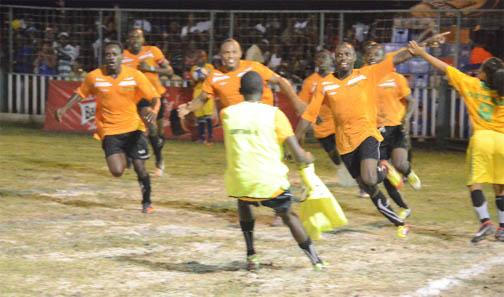 Campton players celebrate their victory. (Orlando Charles photo)