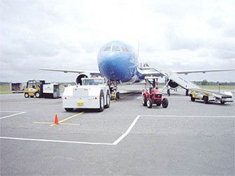 Ground handling operations at the Cheddi Jagan International Airport, Timehri