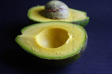 The redeemed avocado (Photo by Cynthia Nelson)