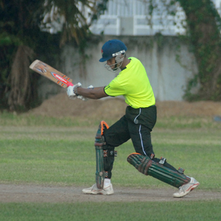 MVP Tagenarine Chanderpaaul during his unbeaten 103 on Tuesday.