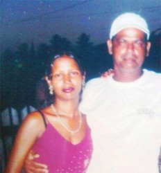 Dead: Patricia Bacchus and Narendra Thakoor. Eyewitnesses say Thakoor chopped Bacchus to death and then drank posion.