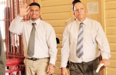 From left, Arif and Latiff Mohamed