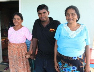 The Nohan Family. From left are Sister Rose, Kevin and Ileen.