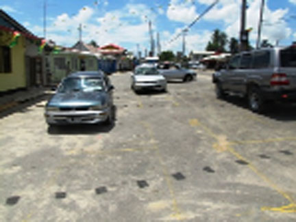 The Plaisance Market tarmac (GINA photo)