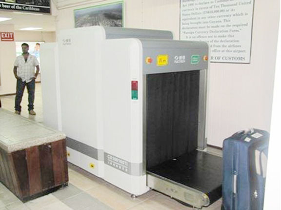 Airport Baggage Handling Scan : New airport baggage scanner to clamp down on 'suitcase